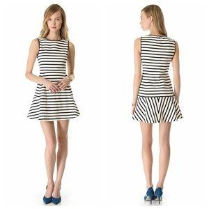 Theory sz 2 Nikay B striped mini dress EUC